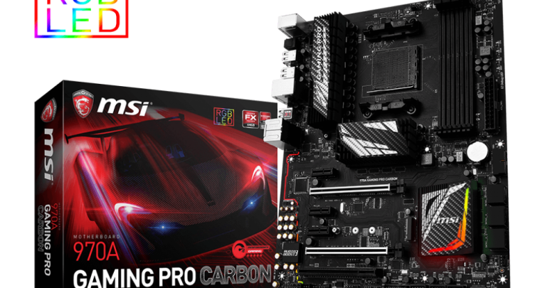 Photo of MSI Keeping AM3+ Relevant, Releases New 970A Gaming Pro Carbon Motherboard