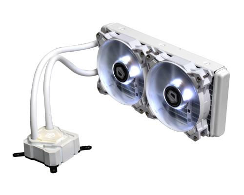 ID Cooling Launches the ICEKIMO 240W Pure White AIO AIO, id-cooling, pwm, radiator, Water Cooling, white 2