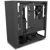 NZXT Adds Tempered Glass Side-Panel to S340 Mid-Tower Case Case, NZXT, s340, sidepanel, tempered glass 6