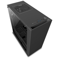 NZXT Adds Tempered Glass Side-Panel to S340 Mid-Tower Case Case, NZXT, s340, sidepanel, tempered glass 9