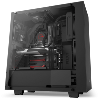 NZXT Adds Tempered Glass Side-Panel to S340 Mid-Tower Case Case, NZXT, s340, sidepanel, tempered glass 1