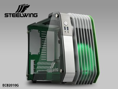 Enermax STEELWING Aluminum Case Launched with Two Color Options aluminum, Enermax, steelwing, tempered glass 2