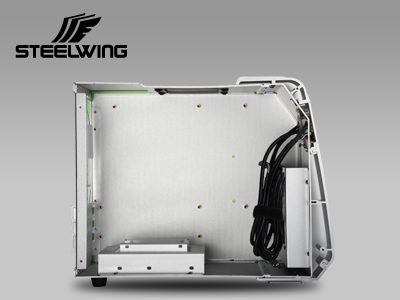 Enermax STEELWING Aluminum Case Launched with Two Color Options aluminum, Enermax, steelwing, tempered glass 5