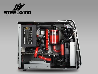Enermax STEELWING Aluminum Case Launched with Two Color Options aluminum, Enermax, steelwing, tempered glass 6