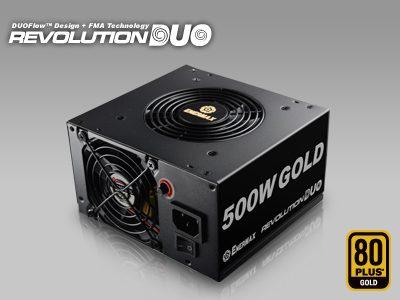 ENERMAX Revolution DUO Power Supply Twice as Cool as Most PSUs Enermax, power supply, revolution duo, twister bearing