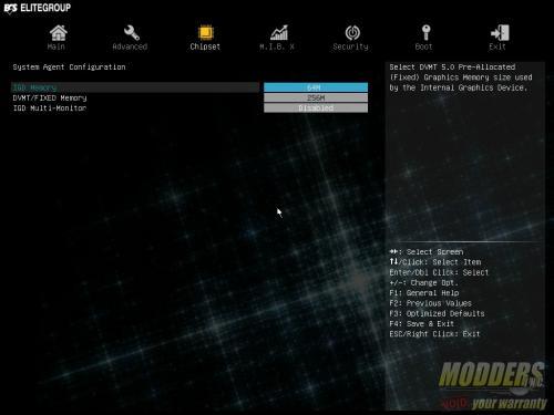 ECS LEET Z170-Lightsaber Review: A Cut Above ECSUEFI 3Chipset 1SystemAgent