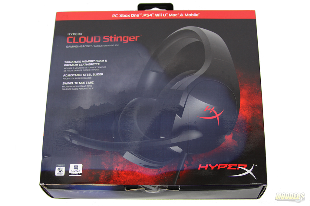 5ee8873e282 Packaging of Cloud Stinger is simple and colorful. HyperX theme consists of  black and red colors and by mixing high resolution images on the packaging  ...