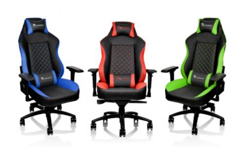 Tt eSPORTS Expands Lineup into Gaming Chairs, Offers Four New Models chair, gt comfort, gt fit, seat, Thermaltake, Tt eSports, x comfort, x fit 1