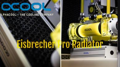 Photo of New Alphacool Eisbrecher Radiators Made with Silence in Mind