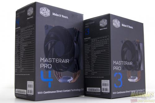 CM MasterAir Pro 3 and 4 CPU Cooler