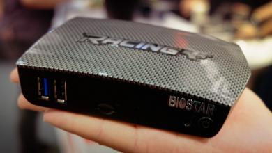 Biostar Racing P1 Brings RGB LED Craze to Mini-PC Market biostar, cherry trail, Intel, Mini-PC, soc, vesa 6