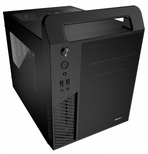 New Reeven Koios mATX Case Ready for a LAN Party apevia, Case, Chassis, koios, micro atx, reeven 1