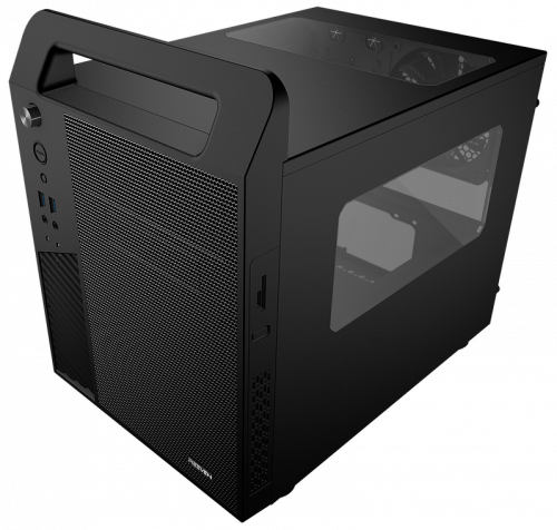 New Reeven Koios mATX Case Ready for a LAN Party apevia, Case, Chassis, koios, micro atx, reeven 2