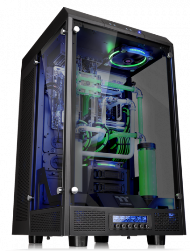 Thermaltake The Tower 900 E-ATX Case Launched casemodding, mathieu heredia, the tower 900, Thermaltake, watermod 3