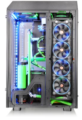 Thermaltake The Tower 900 E-ATX Case Launched casemodding, mathieu heredia, the tower 900, Thermaltake, watermod 4