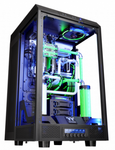 Thermaltake The Tower 900 E-ATX Case Launched casemodding, mathieu heredia, the tower 900, Thermaltake, watermod 2