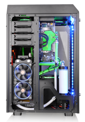 Thermaltake The Tower 900 E-ATX Case Launched casemodding, mathieu heredia, the tower 900, Thermaltake, watermod 1
