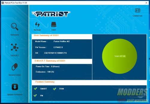 Patriot Memory Hellfire M.2 480GB NVMe SSD Review 480gb, nvme, Patriot Memory, SSD, Storage 3