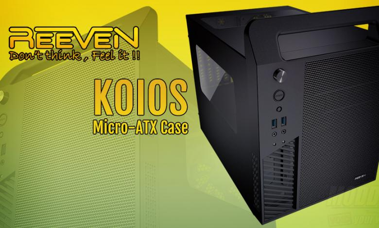 Photo of New Reeven Koios mATX Case Ready for a LAN Party