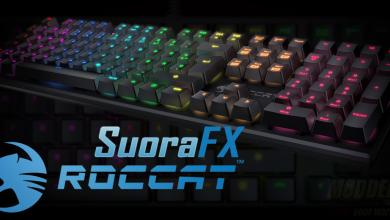 Photo of ROCCAT Introduces RGB LED Suora FX Frameless Mechanical Keyboard