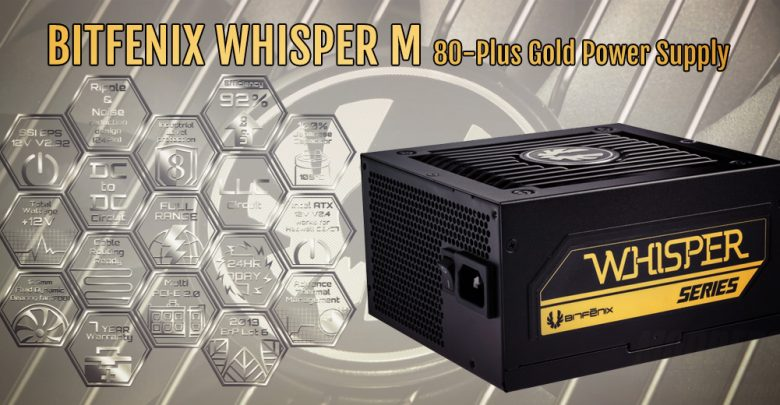 Photo of BitFenix Introduces Whisper M Power Supply Series