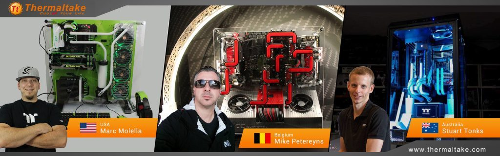Thermaltake Game with your MOD! at CES 2017 CES, ces 2017, Thermaltake 1