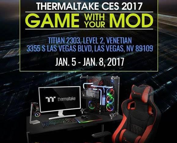 Photo of Thermaltake Game with your MOD! at CES 2017
