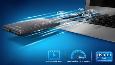 ADATA Updated the SC660H and SV620H 3D NAND External SSD ADATA, external SSD, SSD