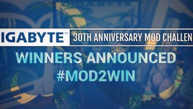 GIGABYTE Mod2Win Winners Announced