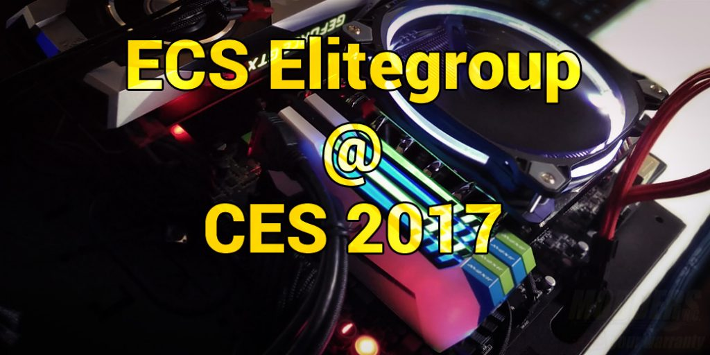 ECS Elitegroup @ CES 2017