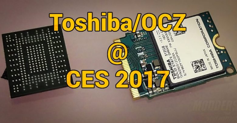 Photo of Toshiba OCZ @ CES 2017: Going Big by Going Small