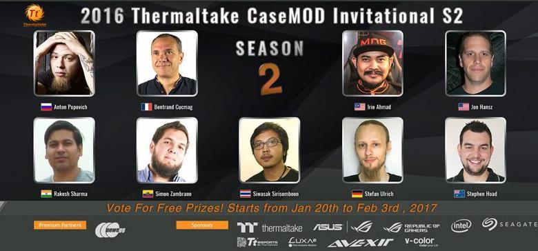 Photo of 2016 Thermaltake CaseMod Invitational Season 2 Voting Begins