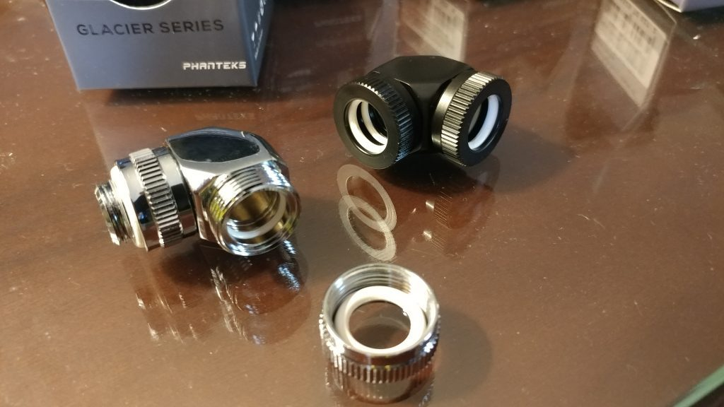 Phanteks water cooling fittings