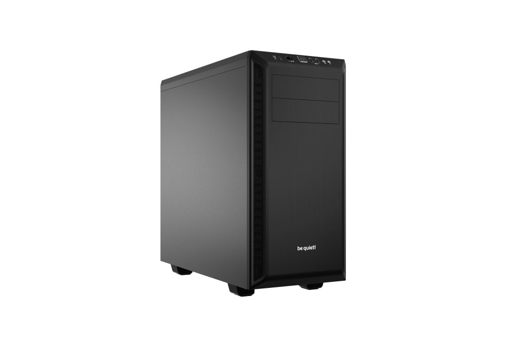 be quiet! Releases Pure Base 600 Mid-tower Case black, Case, Mid Tower, pure base 600, pure wings 2, quiet, silver 1