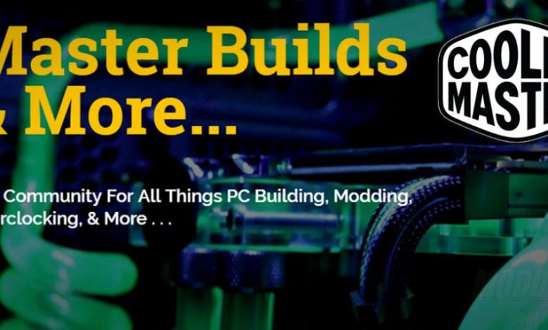 Photo of Cooler Master Reveals the #MASTERBUILD Website