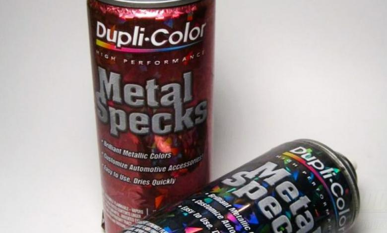 Photo of Dupli-Color Metal Specks Paint Review