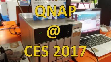 QNAP NAS DEVICES at CES 2017 CES