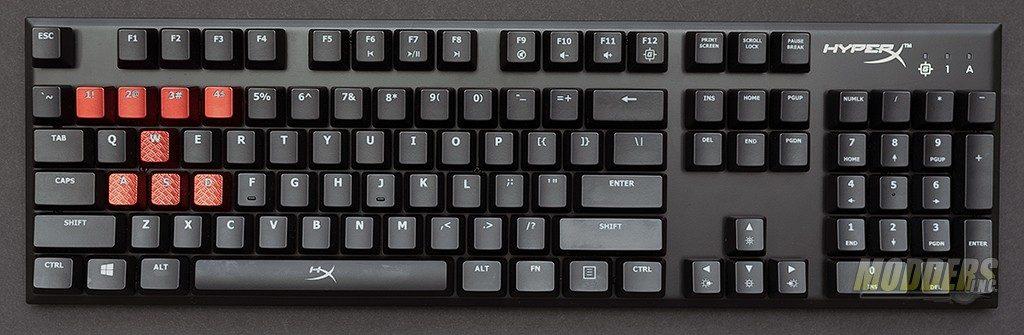 HyperX Alloy FPS Mechanical Gaming Keyboard Review CherryMX, HyperX, Kingston, LED lighting, USB 1