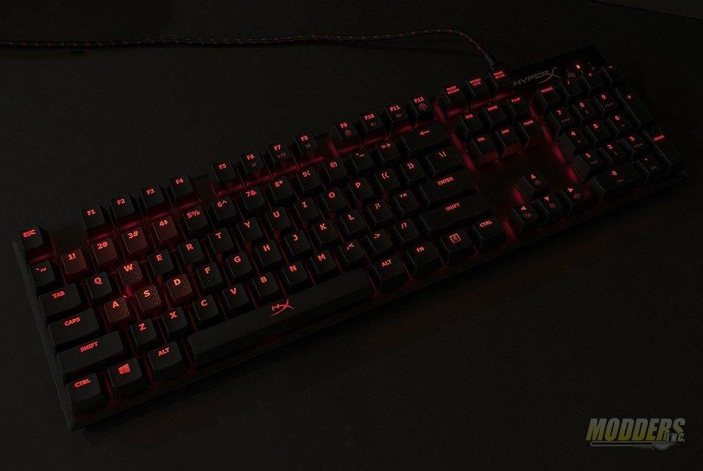 HyperX Alloy FPS Mechanical Gaming Keyboard Review CherryMX, HyperX, Kingston, LED lighting, USB 4
