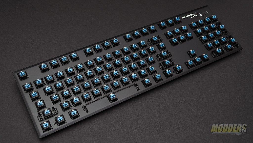 HyperX Alloy FPS Mechanical Gaming Keyboard Review CherryMX, HyperX, Kingston, LED lighting, USB 5