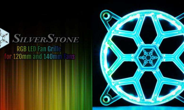 Photo of Silverstone FG Series Fan Grille Makes Any Fan an RGB LED Fan