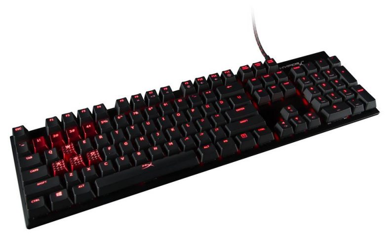 HyperX Alloy FPS Keyboard Now Available with Cherry MX Brown or Red Switches
