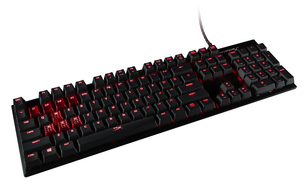 HyperX Alloy FPS Keyboard Now Available with Cherry MX Brown or Red Switches allloy fps, Blue, brown, cherry mx, Gaming, HyperX, Keyboard 1