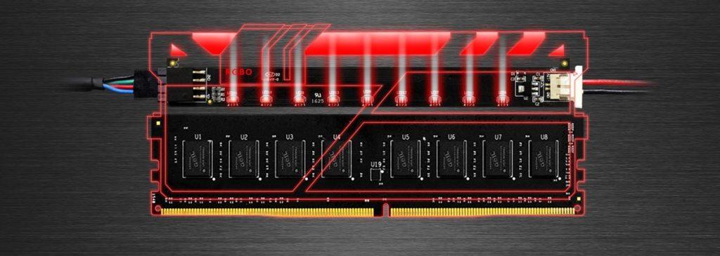 GeIL Unveils EVO X DDR4 RGB LED Kit ddr4, EVO X, GeIL, led, Memory 1