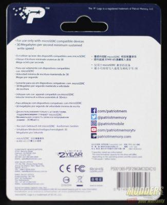 Patriot LX Series micro SDXC Class 10 256 GB Flash Memory Review lx series, memory card, microsd, Patriot 3