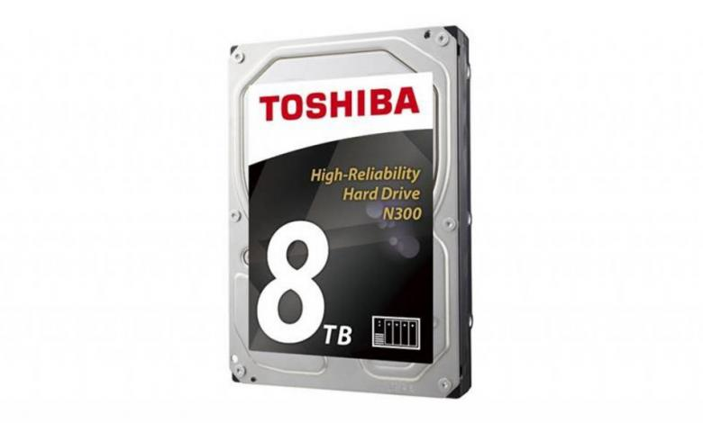 Photo of Toshiba Increases N300 NAS HDD Capacity to 8TB