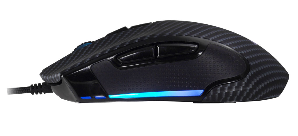 Biostar Unveils True Ambidextrous Racing GM5 Gaming Mouse