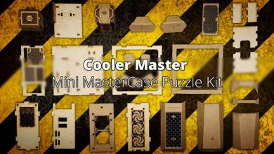 Photo of Cooler Master Mini MasterCase Wooden Puzzle Available for a Limited Time