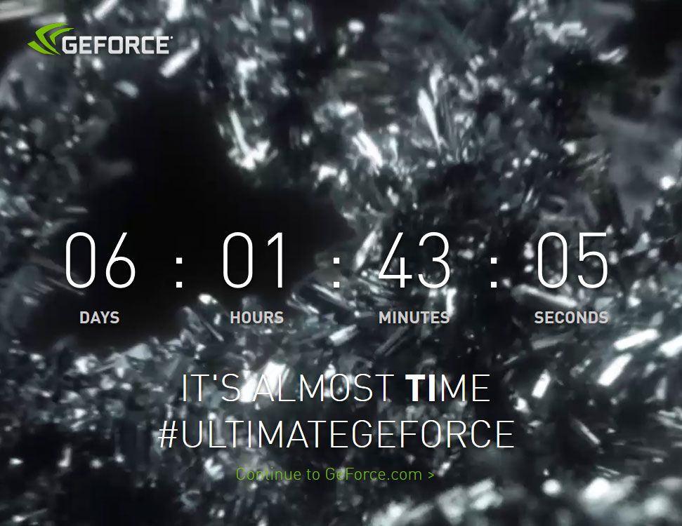 NVIDIA Teases Likely GeForce GTX 1080 Ti Launch at GDC