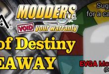 Winners and theme picked for the Wheel of Destiny Case Mods #1 Giveaway